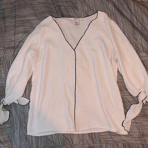 Formal Long Sleeve Blouse